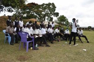 The Water Project: Shamberere Boys' High School -  Training In Session
