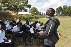The Water Project: Shamberere Boys' High School -  Conducting Training