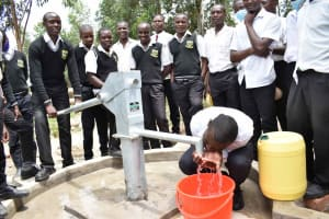 The Water Project: Shamberere Boys' High School -  Quench Your Thirst