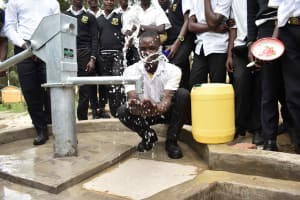 The Water Project: Shamberere Boys' High School -  Water Celebrations