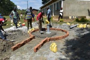 The Water Project: Bukhakunga Primary School -  Apron Setting