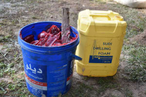 The Water Project: Bukhakunga Primary School -  Drilling Materials Drilling Form