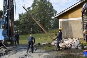The Water Project: Bukhakunga Primary School -  Changing Rods