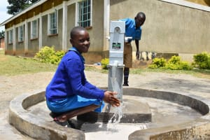 The Water Project: Bukhakunga Primary School -  Clean Flowing Water