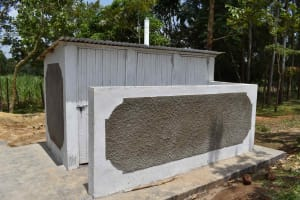 The Water Project: Bukhakunga Primary School -  Complete Latrines