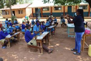The Water Project: Bukhakunga Primary School -  Hand Washing Training