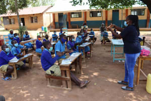The Water Project: Bukhakunga Primary School -  Handwashing Training