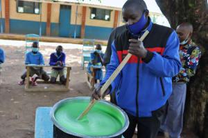 The Water Project: Bukhakunga Primary School -  Soapmaking Training