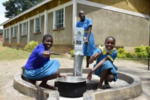 The Water Project: Bukhakunga Primary School -  Thumbs Up For Water