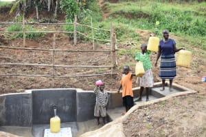 The Water Project: Khunyiri Community, Edward Spring -  Happy Customers