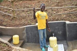 The Water Project: Khunyiri Community, Edward Spring -  Thumbs Up