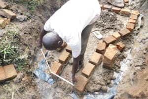 The Water Project: Khunyiri Community, Edward Spring -  Brick Outline