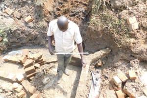 The Water Project: Khunyiri Community, Edward Spring -  Brick Progress
