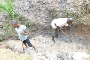 The Water Project: Khunyiri Community, Edward Spring -  Escape Channel