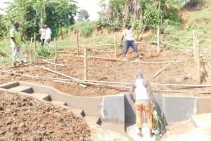 The Water Project: Khunyiri Community, Edward Spring -  Fencing