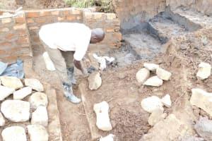 The Water Project: Khunyiri Community, Edward Spring -  Pitching Stones