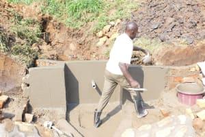 The Water Project: Khunyiri Community, Edward Spring -  Walls Looking Good
