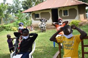 The Water Project: Khunyiri Community, Edward Spring -  Masking Up