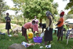 The Water Project: Khunyiri Community, Edward Spring -  Soap In Progress