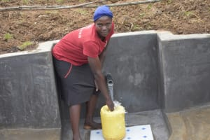 The Water Project: Khunyiri Community, Edward Spring -  Alice At The Spring