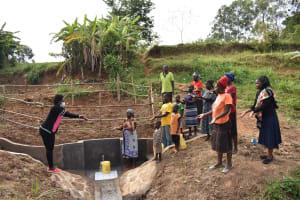 The Water Project: Khunyiri Community, Edward Spring -  Ceremony