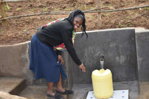 The Water Project: Khunyiri Community, Edward Spring -  Fetching Made Easy