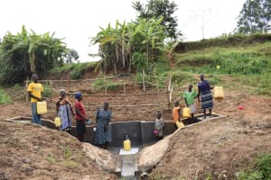 The Water Project: Khunyiri Community, Edward Spring -  Happy People