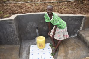 The Water Project: Khunyiri Community, Edward Spring -  Much Easier