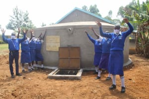 The Water Project: St. Stephens ACK Eshiakhulo Secondary School -  Cheers