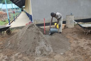 The Water Project: St. Stephens ACK Eshiakhulo Secondary School -  Construction Material