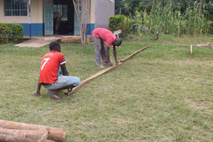 The Water Project: St. Stephens ACK Eshiakhulo Secondary School -  Construction Materials