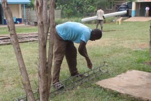 The Water Project: St. Stephens ACK Eshiakhulo Secondary School -  Construction Materials Prep