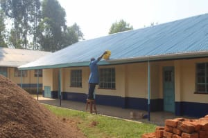 The Water Project: St. Stephens ACK Eshiakhulo Secondary School -  Guttering System