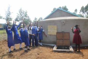 The Water Project: St. Stephens ACK Eshiakhulo Secondary School -  Handing Over The Tank