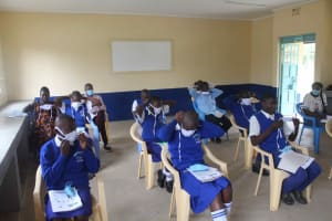 The Water Project: St. Stephens ACK Eshiakhulo Secondary School -  Learning
