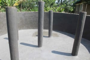 The Water Project: St. Stephens ACK Eshiakhulo Secondary School -  Pillars