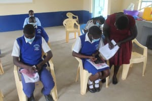 The Water Project: St. Stephens ACK Eshiakhulo Secondary School -  Registration