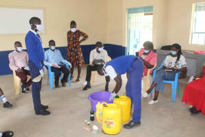 The Water Project: St. Stephens ACK Eshiakhulo Secondary School -  Soapmaking