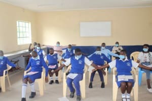 The Water Project: St. Stephens ACK Eshiakhulo Secondary School -  Students Learning