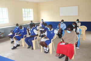 The Water Project: St. Stephens ACK Eshiakhulo Secondary School -  Students Ready To Learn