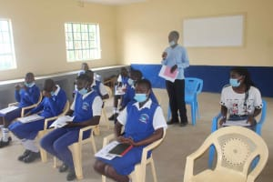 The Water Project: St. Stephens ACK Eshiakhulo Secondary School -  Training