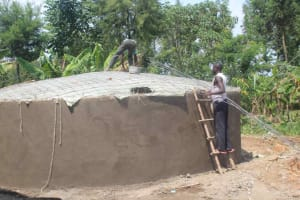 The Water Project: St. Stephens ACK Eshiakhulo Secondary School -  The Dome