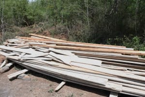 The Water Project: Yathui Community A -  Timber