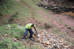 The Water Project: Yathui Community A -  Just A Few Stones