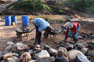 The Water Project: Yathui Community A -  Gathering Stone