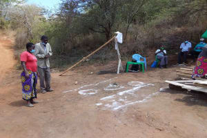 The Water Project: Yathui Community A -  Participation