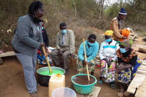 The Water Project: Yathui Community A -  Soap Making