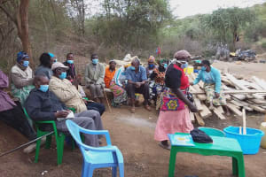 The Water Project: Yathui Community A -  Taking Notes