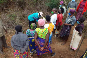 The Water Project: Yathui Community A -  Trying It Out