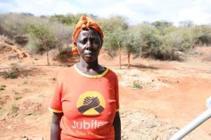 The Water Project: Yathui Community A -  Francesca Mutuku